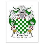 Cuartas Family Crest Small Poster