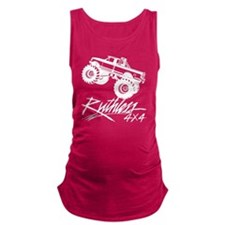 Ruthless 4x4 Monster Truck Maternity Tank Top