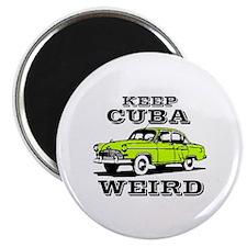 Cute Cuba cars Magnet