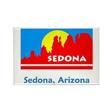 Sedona AZ Flag Rectangle Magnet