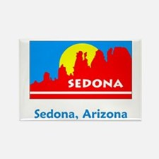 Sedona AZ Flag Rectangle Magnet