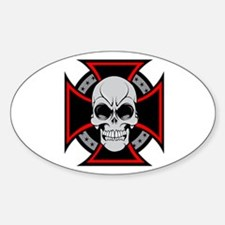 Iron Cross and Skull Decal