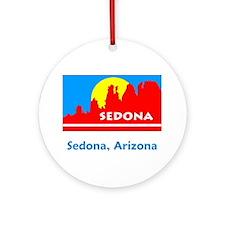 Sedona AZ Flag Ornament (Round)