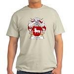 Corder Family Crest Light T-Shirt