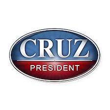Ted Cruz for President 2016 Oval Car Magnet
