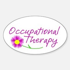 Occupational Therapy Hand Flower Decal