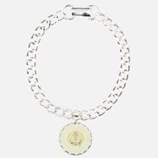 nautical anchor yellow c Bracelet