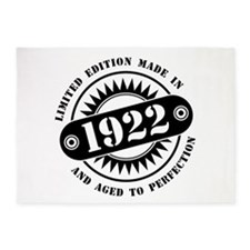 LIMITED EDITION MADE IN 1922 5'x7'Area Rug