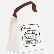 Unique Kung fu Canvas Lunch Bag