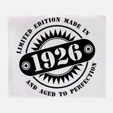 LIMITED EDITION MADE IN 1926 Throw Blanket