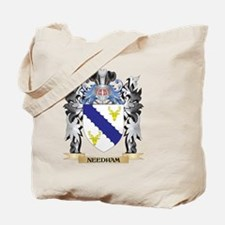 Needham Coat of Arms - Family Crest Tote Bag
