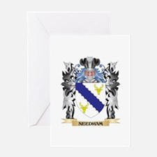 Needham Coat of Arms - Family Crest Greeting Cards