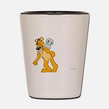 Golden freddy Shot Glass
