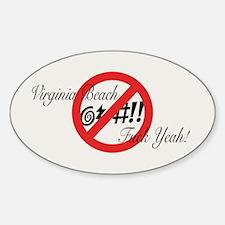 Virginia @#!! Decal