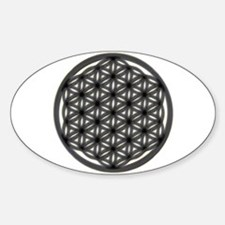 Flower Of Life Oval Decal