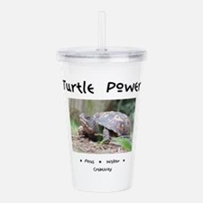 Turtle Totem Gifts Acrylic Double-wall Tumbler