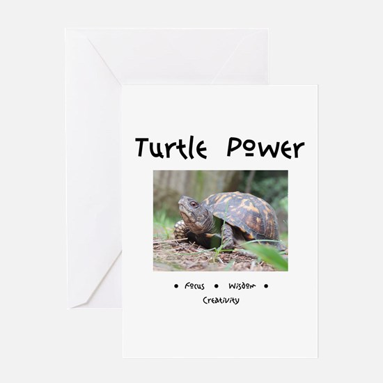 Turtle Totem Gifts Greeting Cards