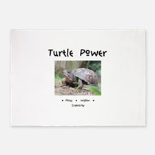 Turtle Totem Gifts 5'x7'Area Rug
