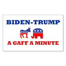 Biden Trump Gaff Decal