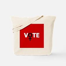 Women Vote Tote Bag