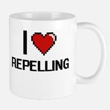 I Love Repelling Digital Design Mugs