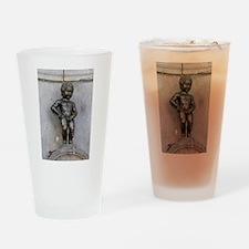 Manneken Pis Belgium Drinking Glass
