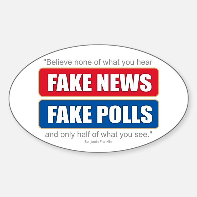 Fake News - Franklin Quote Decal