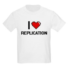 I Love Replication Digital Design T-Shirt