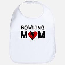 Bowling Mom Bib