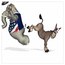 Donkey Kicking Ass Poster