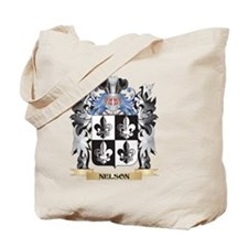 Nelson- Coat of Arms - Family Crest Tote Bag