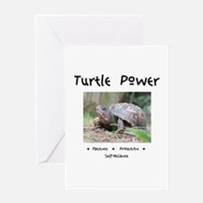Turtle Power Animal Medicine Greeting Cards