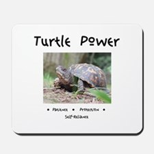 Turtle Power Animal Medicine Mousepad