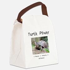 Turtle Power Animal Medicine Canvas Lunch Bag