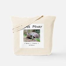 Turtle Power Animal Medicine Tote Bag