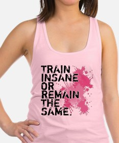 Cool Eat clean train dirty Racerback Tank Top