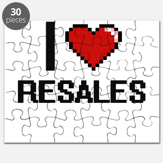 I Love Resales Digital Design Puzzle