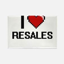 I Love Resales Digital Design Magnets