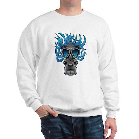 Gas Mask Blue @ eShirtLabs Sweatshirt