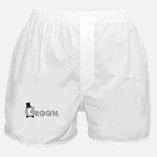 Dressed Up Groom Boxer Shorts