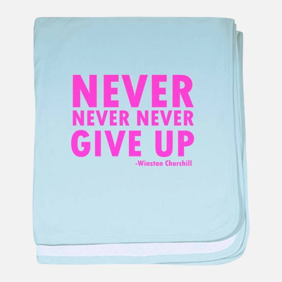 NeverGiveUp.png baby blanket