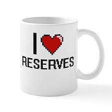 I Love Reserves Digital Design Mugs