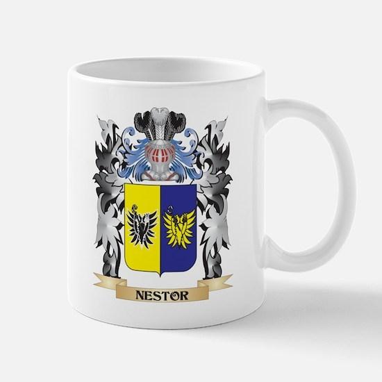 Nestor Coat of Arms - Family Crest Mugs