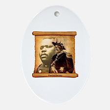 M. Garvey Oval Ornament