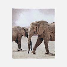 The Elephants Throw Blanket