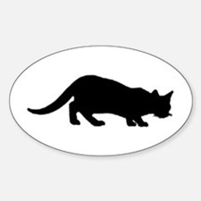 maine coon silhouette Decal