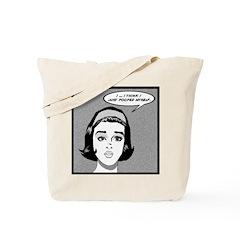 Poop Girl Tote Bag