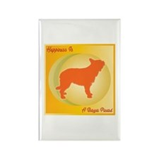 Berger Happiness Rectangle Magnet (100 pack)