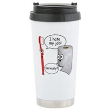 Funny Sayings - I hate my job Travel Mug