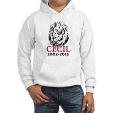 R.I.P. Cecil the Lion Hoodie Sweatshirt